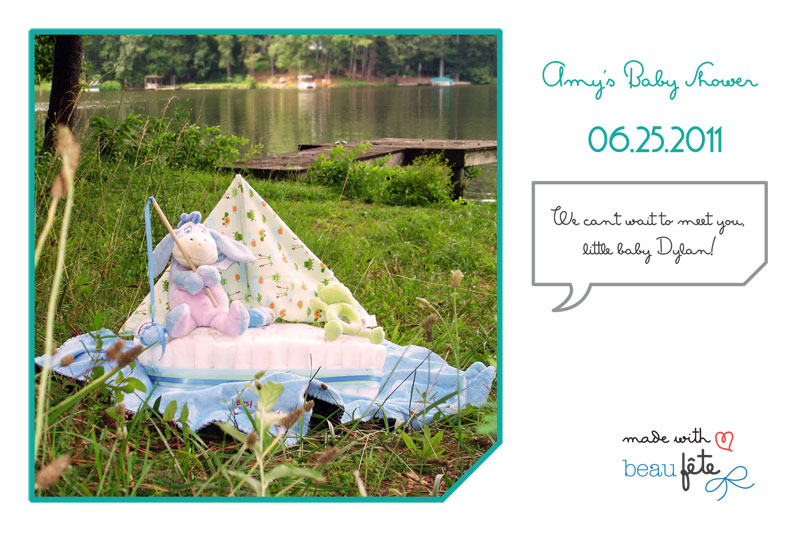 Beau Fete - Personalized Post Card