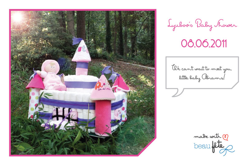 Beau Fete - Personalized Post Card 2