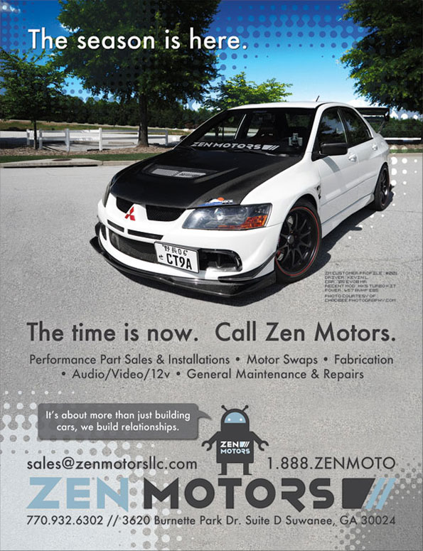 Zen Motors Magazine Advertisement - 1