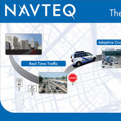 Navteq Graphic Wall Banner