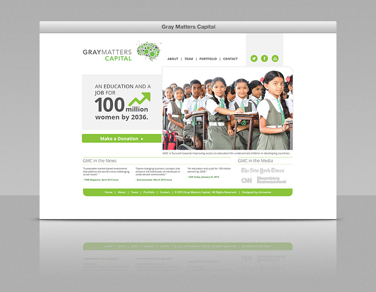 Gray Matters Capital Website