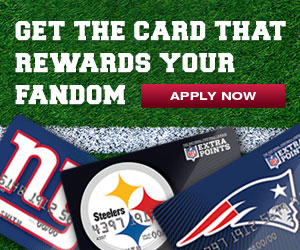NFL Extra Points Credit Card Flash Banner Storyboards