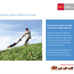 Wells Fargo Tradeshow Exhibit Graphics