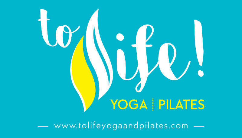 ToLife! Yoga & Pilates Logo & Branding - Business Card Back